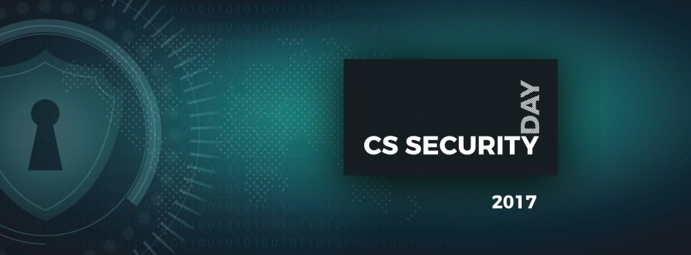 [CS Security Day 2017]