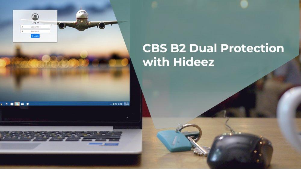 [CBS B2 Dual Protection with Hideez]