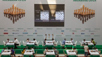 [INTERNATIONAL CHESS TOURNAMENT SBERBANK OPEN]