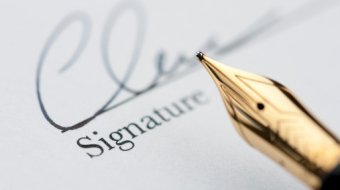 [Never write what you dare not sign… with iFOBS. Facsimile]