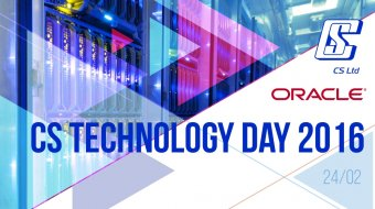 [CS Technology Day 2016]